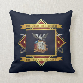 14th Connecticut Volunteer Infantry Throw Pillow
