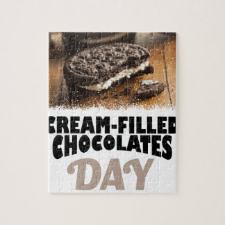 14th February - Cream-Filled Chocolates Day Jigsaw Puzzle