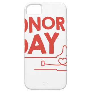 14th February - Donor Day - Appreciation Day iPhone 5 Covers