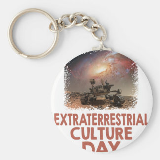14th February - Extraterrestrial Culture Day Keychain