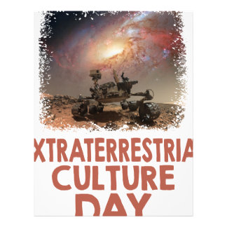 14th February - Extraterrestrial Culture Day Letterhead
