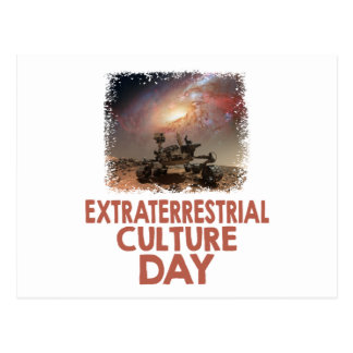 14th February - Extraterrestrial Culture Day Postcard