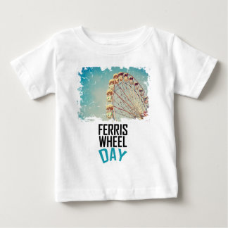 14th February - Ferris Wheel Day Baby T-Shirt
