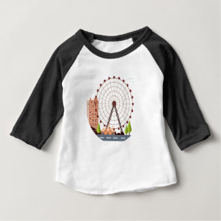 14th February - Ferris Wheel Day Baby T-Shirt