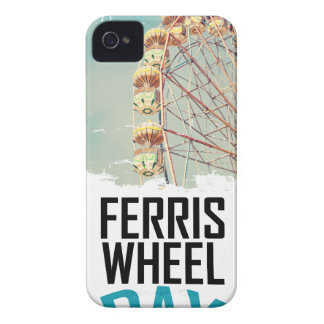 14th February - Ferris Wheel Day iPhone 4 Case-Mate Cases