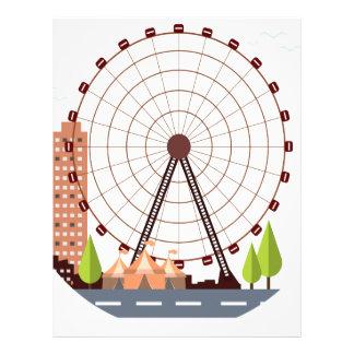 14th February - Ferris Wheel Day Letterhead