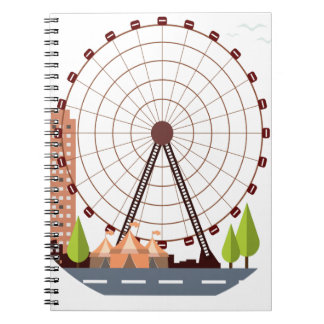 14th February - Ferris Wheel Day Notebook