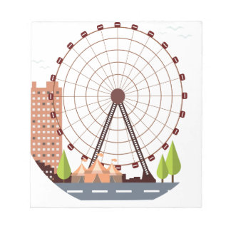 14th February - Ferris Wheel Day Notepad