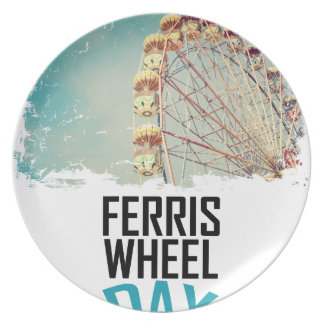 14th February - Ferris Wheel Day Party Plates