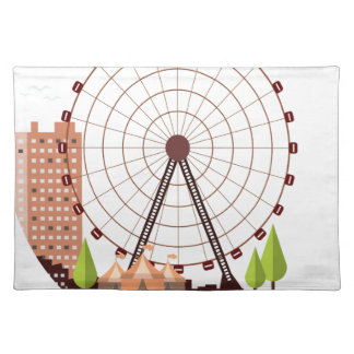14th February - Ferris Wheel Day Placemat