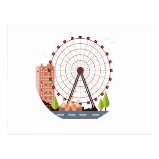 14th February - Ferris Wheel Day Postcard