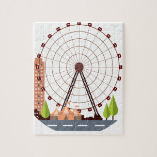 14th February - Ferris Wheel Day Puzzle