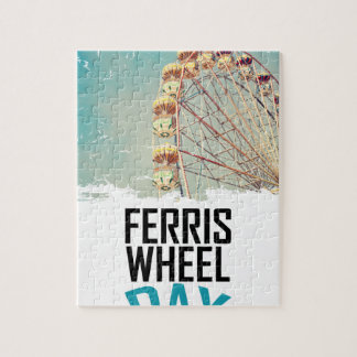 14th February - Ferris Wheel Day Puzzles