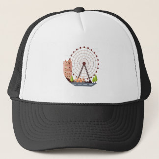 14th February - Ferris Wheel Day Trucker Hat