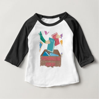 14th February - International Book Giving Day Baby T-Shirt