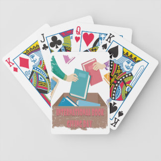 14th February - International Book Giving Day Bicycle Playing Cards