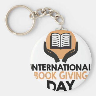 14th February - International Book Giving Day Keychain