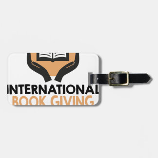 14th February - International Book Giving Day Luggage Tag