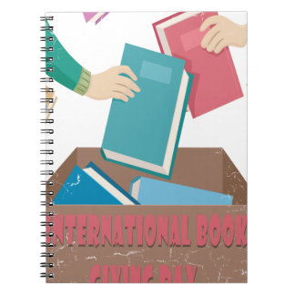 14th February - International Book Giving Day Note Books