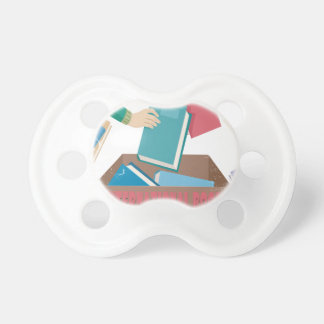 14th February - International Book Giving Day Pacifier