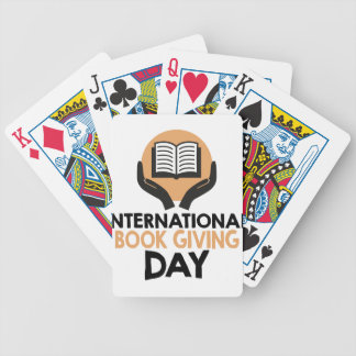 14th February - International Book Giving Day Poker Deck