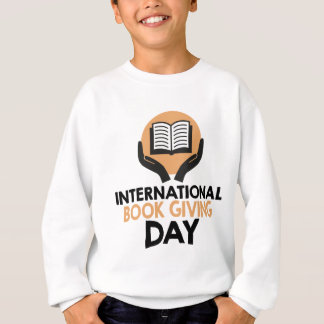 14th February - International Book Giving Day Sweatshirt