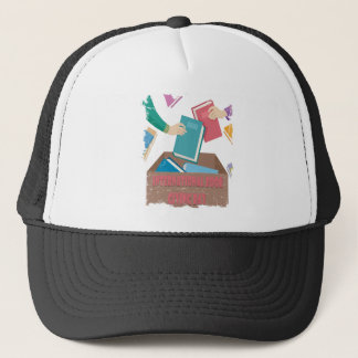 14th February - International Book Giving Day Trucker Hat