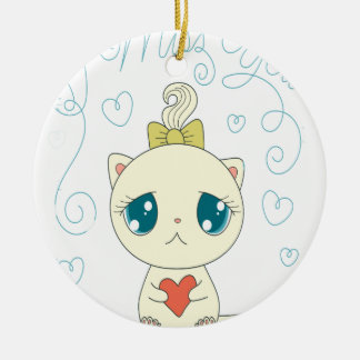 14th February - Pet Theft Awareness Day Ceramic Ornament