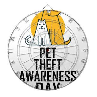 14th February - Pet Theft Awareness Day Dartboard
