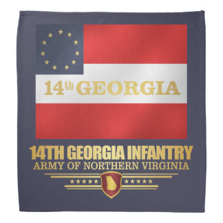 14th Georgia Infantry Bandana