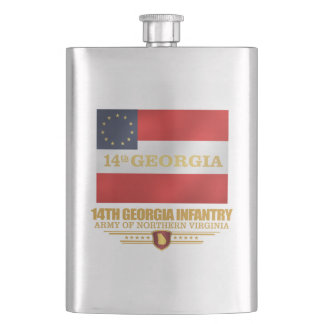 14th Georgia Infantry Hip Flask