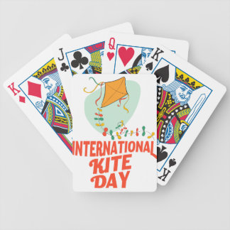 14th January - International Kite Day Bicycle Playing Cards