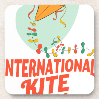 14th January - International Kite Day Coaster