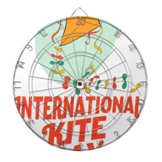14th January - International Kite Day Dartboard