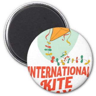 14th January - International Kite Day Magnet