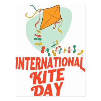14th January - International Kite Day Postcard