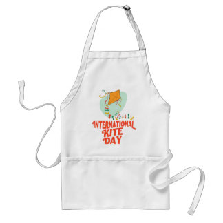 14th January - International Kite Day Standard Apron
