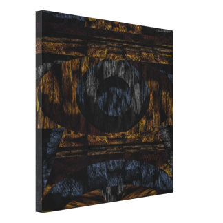 14th Pattern; Faux Fur Texture Canvas Print
