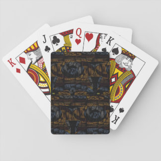 14th Pattern; Faux Fur Texture Playing Cards
