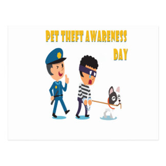14th Pet Theft Awareness Day - Appreciation Day Postcard