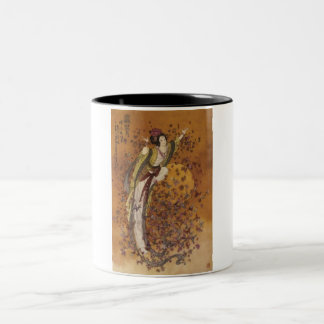 1500-1071~Goddess-of-Wealth-Posters Two-Tone Coffee Mug