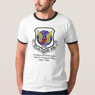 1503d Air Transport Wing Tachikawa AB Japan T-Shirt