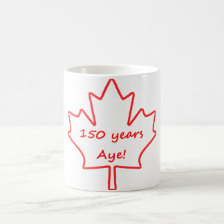150 years of Canada Coffee Mug