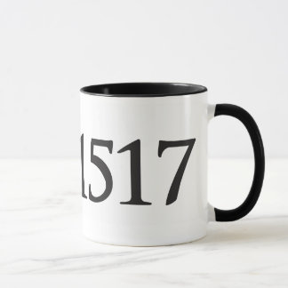 1517 Black 11 oz Ringer Mug