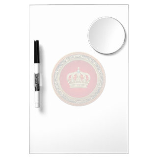 [154] Belgium: Prince-Princess King-Queen Crown Dry Erase Boards