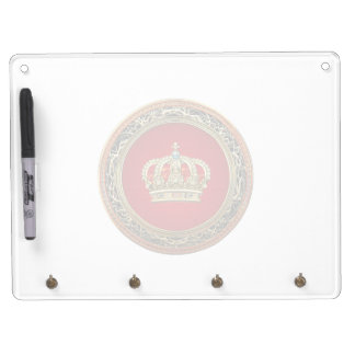 [154] Belgium: Prince-Princess King-Queen Crown Dry Erase Whiteboard