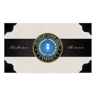 [154] CG: Lieutenant (Junior Grade) (LTJG) Business Card Templates