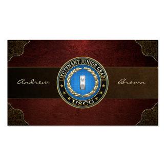 [154] CG: Lieutenant (Junior Grade) (LTJG) Business Cards