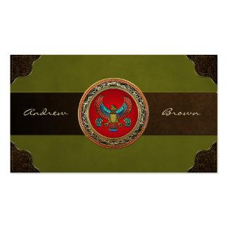 [154] Treasure Trove: Egyptian Falcon [3D] Business Card
