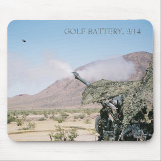 155mm Howitzer, GOLF BATTERY, 3/14 Mouse Pad